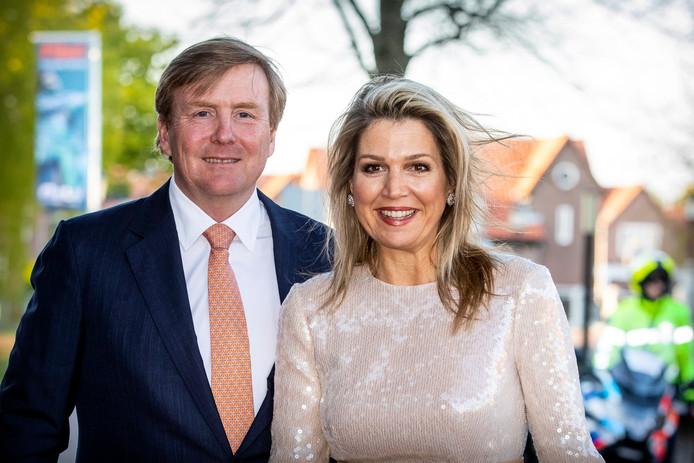 Zijne bijna jarige koninklijke hoogheid Willem-Alexander en koningin Máxima.