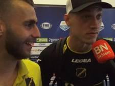 Noppert kaapt serieus interview met Verbeek: 'Breda, Breda, Breda!'