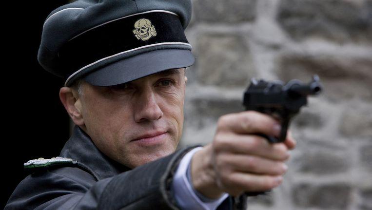 Christoph Waltz in Inglourious Basterds. Beeld .