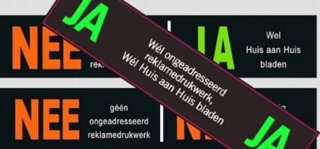 Dikke nee voor de Roosendaalse ja/ja-sticker: meer nadelen dan voordelen