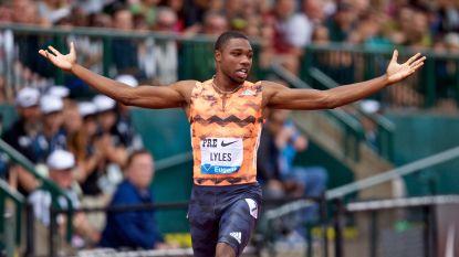 Amerikaan Lyles loopt in beste jaartijd naar nationale titel op 100 meter