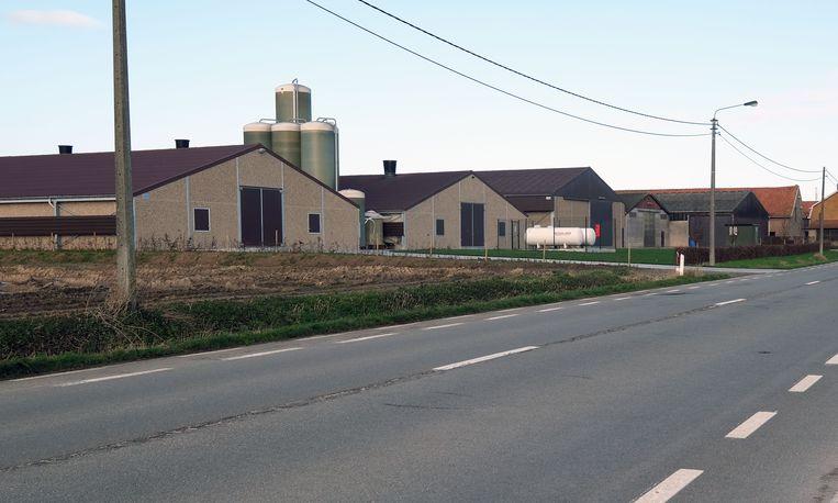 Het landbouwbedrijf Vanhoutte op de grens van Wijtschate met Mesen wil uitbreiden.