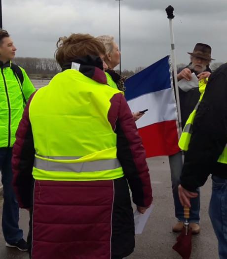 Negen mensen aanwezig bij 'Gele Hesjes' demonstratie in Tiel