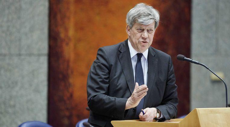 Minister Ivo Opstelten van Veiligheid en Justitie Beeld ANP