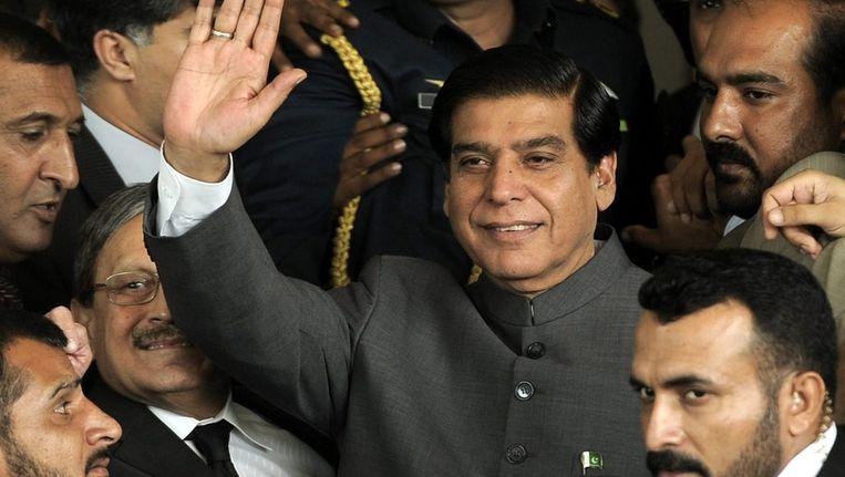 De Pakistaanse premier Raja Pervez Ashraf Beeld ANP