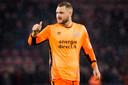 Jeroen Zoet verscheen zaterdag alvast in het Oranje.
