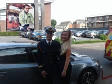 Wegenwachter Romano brengt bruiloftsgasten met panne naar feest
