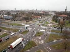 Automobilist gaat werk aan Montgomerylaan Eindhoven ook merken