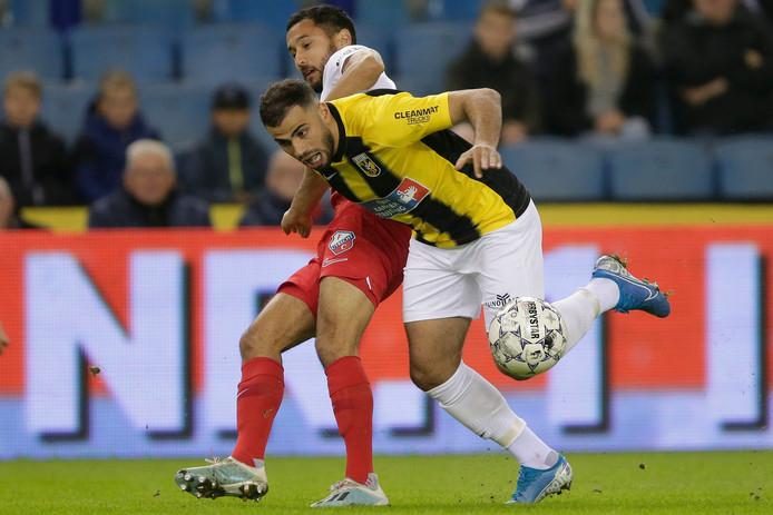 Oussama Tannane is enkele weken uitgeschakeld bij Vitesse.