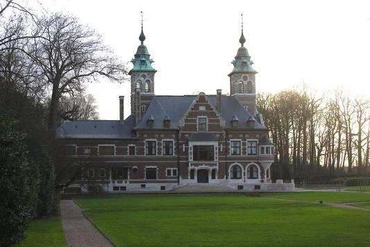 Het kasteel van Regelsbrugge.