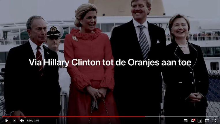 Lange Frans rapt in het nummer Lockdown: 'Een pedonetwerk wereldwijd vraag niet hoe. Via Hillary Clinton tot de Oranjes aan toe.'  Beeld