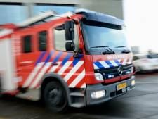 Brand bij Outdoor Valley in Bergschenhoek