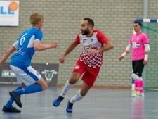 Zaalvoetballers FC Eindhoven lopen averij op richting zesde landstitel