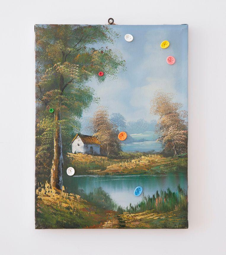 D.D. Trans, Mémoire de la forêt noire (2018), galerie Ramakers. Beeld GALLERY VIEWER