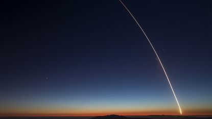 Zo mooi kan raketlancering zijn