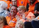 Ook twee jaar geleden bij het EK in eigen land zaten vader en moeder Roord op de tribune bij de Oranjevrouwen.