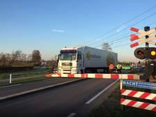 Overwegstoring veroorzaakt files bij Nijkerk