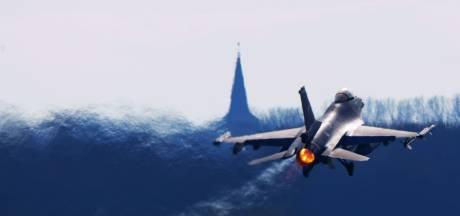 Op frituurvet de lucht in: F16's vliegen deels op biobrandstof