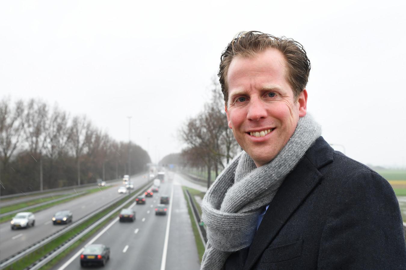 Christophe van der Maat, VVD-leider in Brabant, wil de samenwerking aangaan met CDA, D66, GroenLinks en PvdA.