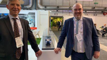 Nieuwe metro M7 tentoongesteld op wereldbeurs van het transport