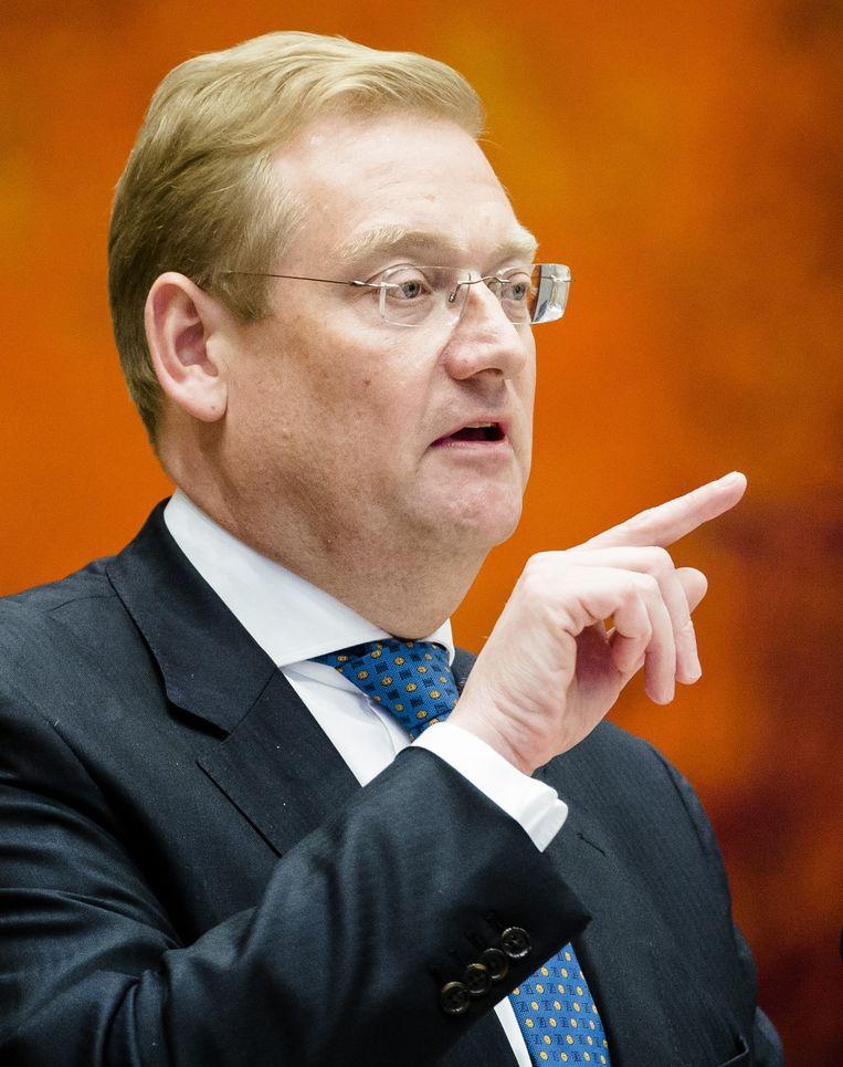 Minister Van der Steur. Beeld anp