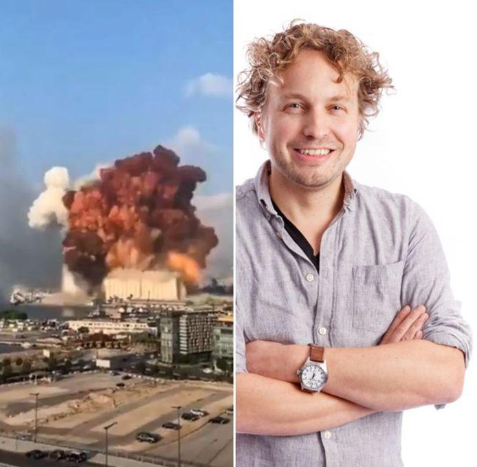 De enorme explosie in Beiroet bekeken we van alle kanten, merkte columnist Niels Herijgens.