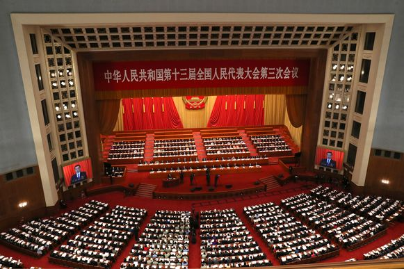 Duizenden ambtenaren kwamen bijeen.