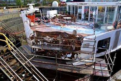Onderzoek naar aanvaring cruiseschip op Westerschelde duurt langer