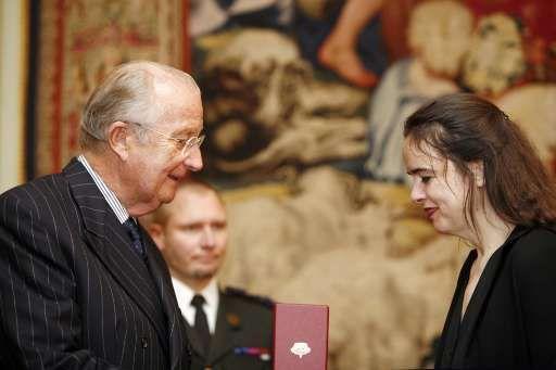 L'écrivain Amélie Nothomb a été nommée commandeur de l'Ordre de la Couronne.