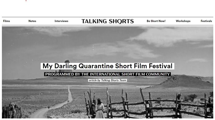 My Darling Quarantaine Short Film Festival.