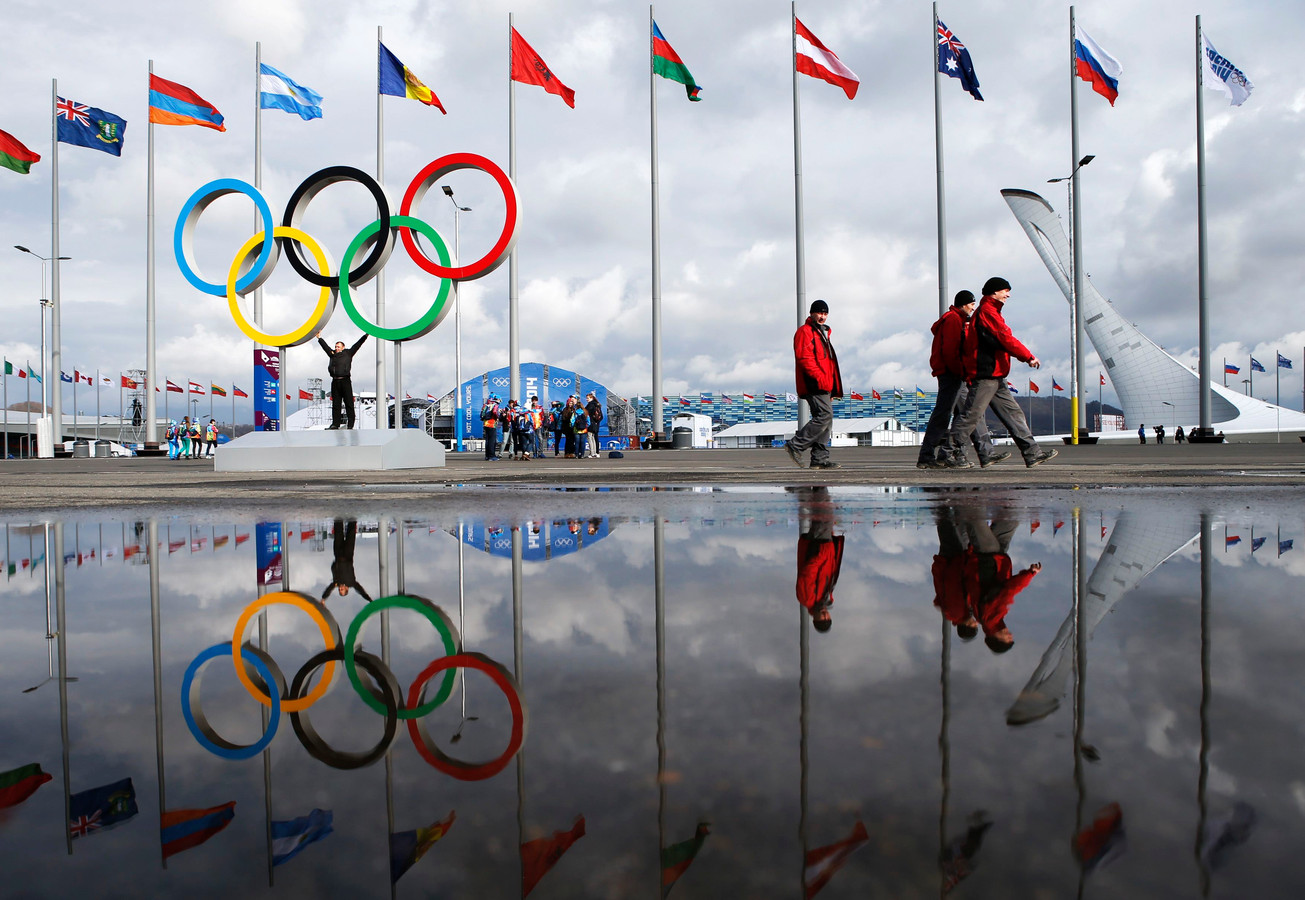 Het olympisch park in Sotsji.