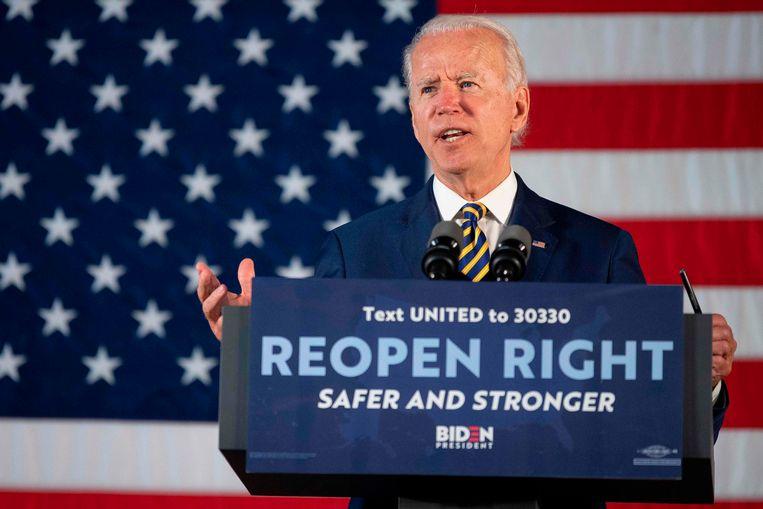 Joe Biden zal op de Democratische conventie officieel de nominatie als Democratische presidentskandidaat accepteren.