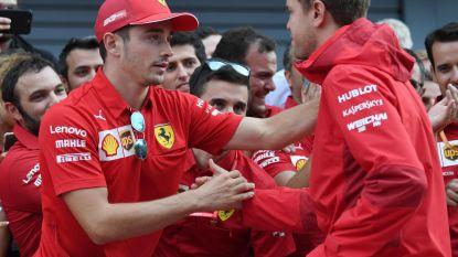 Vettel noemde hem tot drie keer toe 'klootzak', maar onverstoorbare Leclerc grijpt macht bij Ferrari