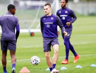 Mykhaylichenko is speler van Anderlecht die positief testte
