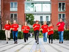 Rennende verplegers van Zorgwaard maken debuut in de Roparun: 'Een redelijk spontaan idee'