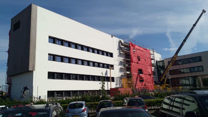 Het nieuwe gebouw van de HZ aan het Groene Woud in Middelburg