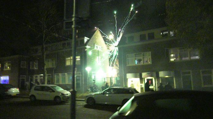 Vuurwerkoverlast in de Arnhemse wijk Geitenkamp.