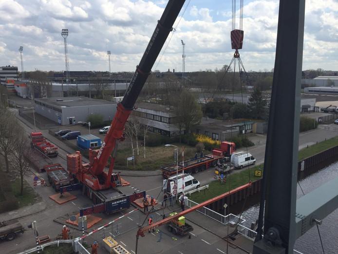 Renovatie Vlietbrug Roosendaal.