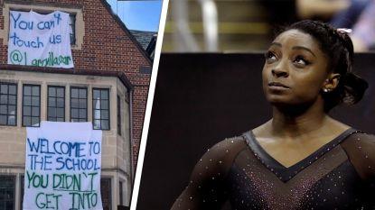"""""""Hier word ik misselijk van"""": topturnster Simone Biles gruwelt van 'grap' rond pedofiele arts Nassar"""