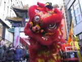 Den Haag viert Chinees Nieuwjaar met dansende draak