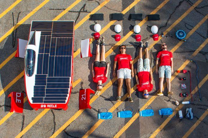 Ook het Solar Team Twente doet mee aan de challenge. Helemaal vanuit Australië.