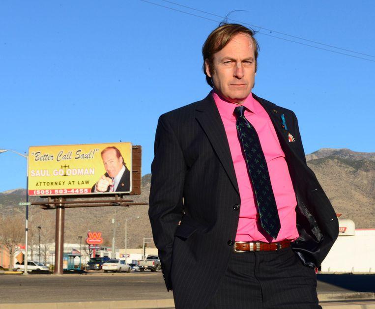 Better Call Saul, met Bob Odenkirk in de hoofdrol, is de spin-off van Breaking Bad en vanaf begin volgend jaar bij AMC en Netflix te zien. Beeld ap