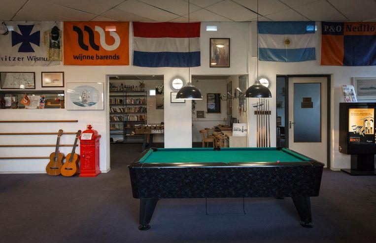 Seamen's Centre op de Radarweg Beeld Dingena Mol