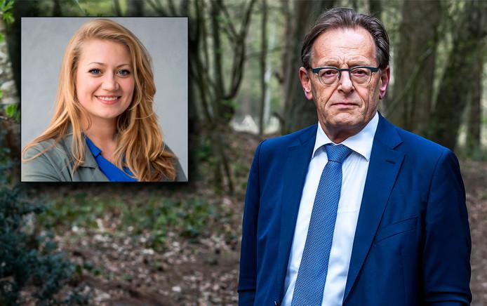 Burgemeester van Zeist, Koos Janssen. Inzet: Anne Faber
