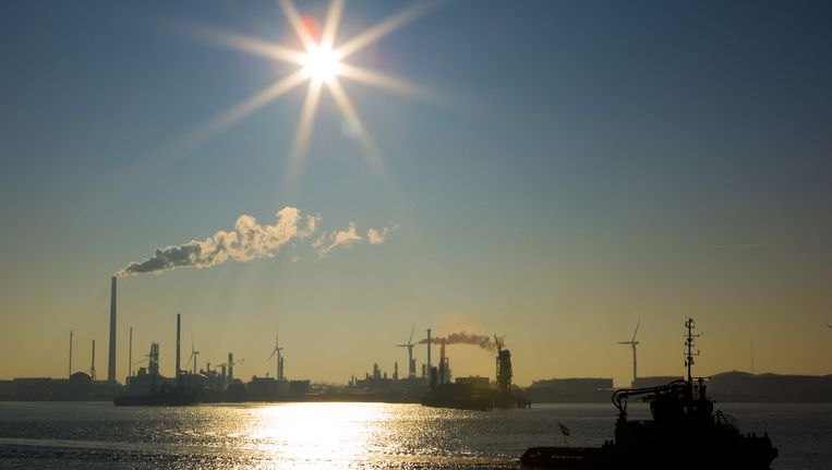 De haven van Rotterdam Beeld ANP XTRA