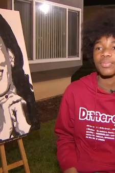 """Un adolescent cumule plus de 1,4 million de vues pour son portrait de Kamala Harris: """"Elle m'a appelée!"""""""