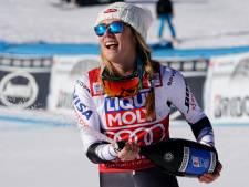 Nieuwe zege voor Shiffrin bij wereldbeker super-G, Vonn haalt finish niet