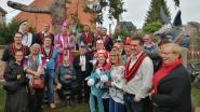 Kuurnse 'Orde van de Ezel' op bezoek in Herberg 'Koning-Ezel'