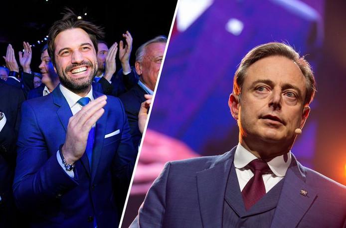 """""""La Belgique est composée de deux démocraties totalement séparées"""", a répondu Bart De Wever, suite aux propos de Georges-Louis Bouchez"""