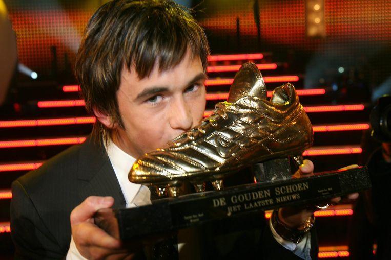 Defour, winnaar van de Gouden Schoen 2007.